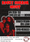 Flyer thumbnail for Rocky Horror Night: The Creep Void