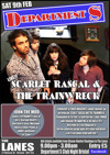 Flyer thumbnail for Department S: Scarlet Rascal & The Train Wreck + John The Mod