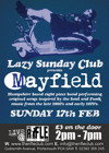 Flyer thumbnail for Lazy Sunday Club Presents: Mayfield