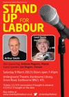 Flyer thumbnail for Stand Up For Labour Eastbourne: Arthur Smith, Grainne Maguire, Manos Kanellos, Crispin Flintoff