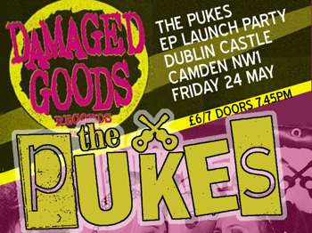 EP Launch Party: The pUKEs + CASE + B-Movie Britz picture