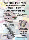Flyer thumbnail for Rugby Soul Club: Ken Aitchison + John Aldridge + Daz Dakin + Keith Money