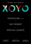 Flyer thumbnail for Digitalism + Sh*t Robot