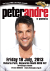 Flyer thumbnail for Peter Andre