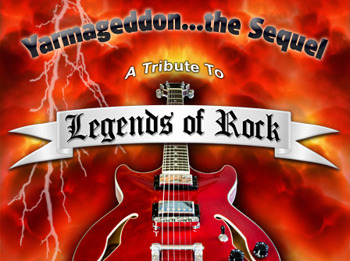 Legends Of Rock: Walkway + Bon Giovi + Four Wheel Drive + A Foreigner's Journey + StoneWire + Too Petty + Who's Next + Voodoo Room + Letz Zep + The Doors Alive + The ZZ Tops + The Bohemians + Stone Free + Praying Mantis picture