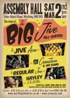 Flyer thumbnail for Big Jive All-dayer: The Jive Aces + 'Mr Dynamo' Si Cranstoun + The Regular Joes