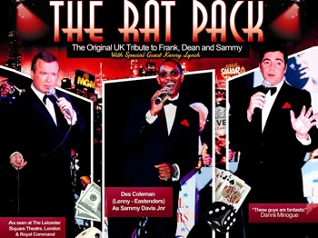 The Rat Pack With Special Guest Kenny Lynch: The Rat Pack Is Back + Kenny Lynch picture