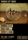 Flyer thumbnail for Easter Thursday Special:: Shola Ama + Maribou State + Toyboy & Robin