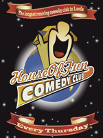 Flyer thumbnail for House Of Fun Comedy Club: Johnny Candon, Ro Campbell, Special Guest Comedian
