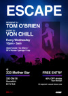 Flyer thumbnail for Escape @ Mother Bar, Shoreditch