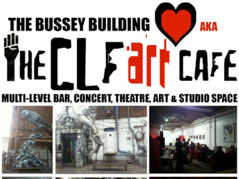 The CLF Art Cafe AKA The Bussey Building venue photo