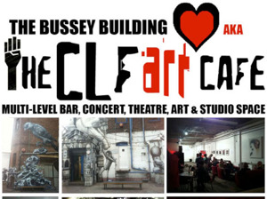 The CLF Art Cafe AKA The Bussey Building artist photo