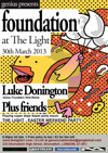 Flyer thumbnail for Genius Presents Foundation - Easter Party: Luke Donington