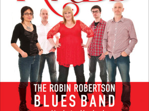 Robin Robertson Blues Band artist photo