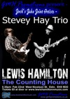 Flyer thumbnail for Stevey Hay Trio / Lewis Hamilton: Lewis Hamilton Band + Stevey Hay