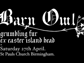Supersonic Festival Presents: Barn Owl + Ex-Easter Island Head + Grumbling Fur picture
