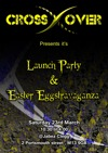 Flyer thumbnail for Crossover Launch Party: DJ Spindles + DJ Jackal + DJ Midnight