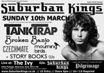 Flyer thumbnail for Suburban Kings And The Ivy Present: Tank Trap + Czechmate + Broken Banjo + Mourning Birds