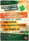 Flyer thumbnail for St Paddy's Warm Up Party
