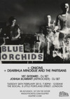 Flyer thumbnail for Blue Orchids + Onions + Artrocker DJs + Vic Godard (DJ Set) + Dearbhla Minogue And The Partisans