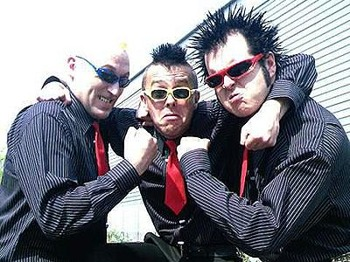 The Toy Dolls + TV Smith picture