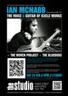 Flyer thumbnail for The Voice & Guitar Of Icicle Works: Ian McNabb + The Woven Project + The Bluebuds
