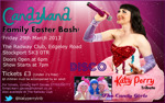 Flyer thumbnail for Family Easter Bash!: Candyland - Katy Perry Tribute
