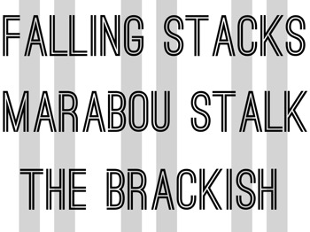 Falling Stacks + Marabou Stalk + The Brackish picture