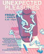 Flyer thumbnail for Design Overtime - Unexpected Pleasures