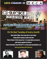 Flyer thumbnail for Chuckles Comedy: Louis Ramey, John Robertson, Rob Collins