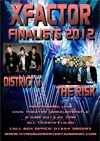 Flyer thumbnail for XFactor Finalists: The Risk + District3