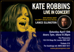 Flyer thumbnail for Lance Ellington + Kate Robbins