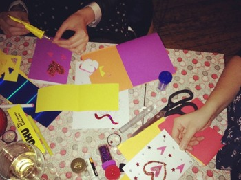 Mother's Day Card Making picture