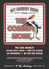 Flyer thumbnail for The Comedy Stork