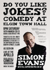 Flyer thumbnail for Do You Like Jokes?: Simon Evans, Chris Forbes, Chris Conroy, gareth mutch, JOHN MCGOLDRICK