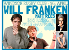 Flyer thumbnail for Laughing Coyote Comedy: Will Franken, Matt Rees, Sean McLoughlin, Iszi Lawrence
