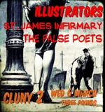 Flyer thumbnail for Illustrators + The False Poets + St James Infirmary