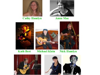 Singer Songwriter Night: Cathy Hamlyn + Anna Mae + Kath Best + Michael Klein + D'Casio + Nick Hamlyn + Jules Cowie with Yuki Yokoi picture