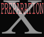 Flyer thumbnail for  Preparation - X