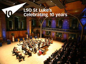 LSO St Luke's Tenth Birthday Festival: LSO On Track: LSO On Track Orchestra picture