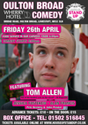 Flyer thumbnail for House Of Stand Up - Oulton Broad Comedy Nights: Tom Allen, Jessica Fostekew, Alan Francis, Pete Beckley, John Pendal