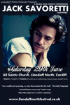 Flyer thumbnail for Llandaff North Festival Presents: Jack Savoretti