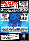 Flyer thumbnail for Reckless Rock Night: Twisted Metal DJs