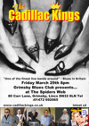 Flyer thumbnail for Grimsby Blues Club Presents: The Cadillac Kings