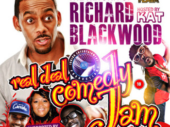 Real Deal Comedy Jam Easter Special Bristol: Richard Blackwood, Kat B, Glenda Jax son, Junior Booker, Rem Conway picture