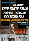 Flyer thumbnail for Lantern Carnival Fundraiser #2: DJ Reimy + This Party Kills