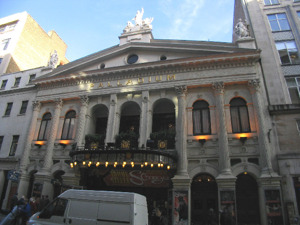 London Palladium artist photo