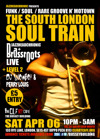Flyer thumbnail for The South London Soul Train: Brassroots + Jazzheadchronic + Snowboy + DJ Perry Louis