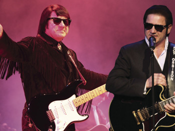 Roy Orbison & Friends 55 Special: Barry Steele + Boogie Williams as Jerry Lee Lewis + Marc Robinson picture