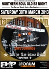 Flyer thumbnail for Flat Hill Promotions Presents: Northern Soul Oldies Night